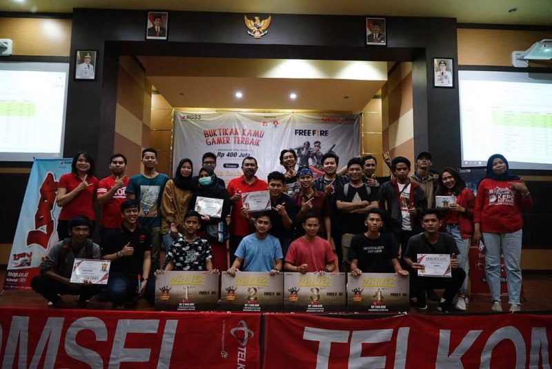 Empat Jawara Dunia Games Campus League Banjarmasin