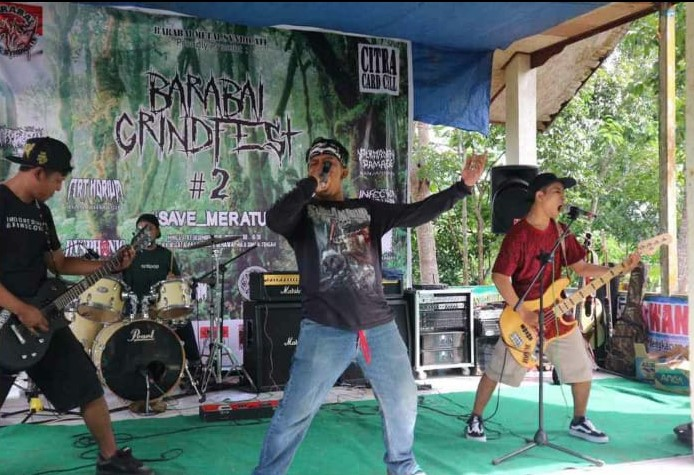 Barabai Metal Syndicate Kampanyekan #savemeratus