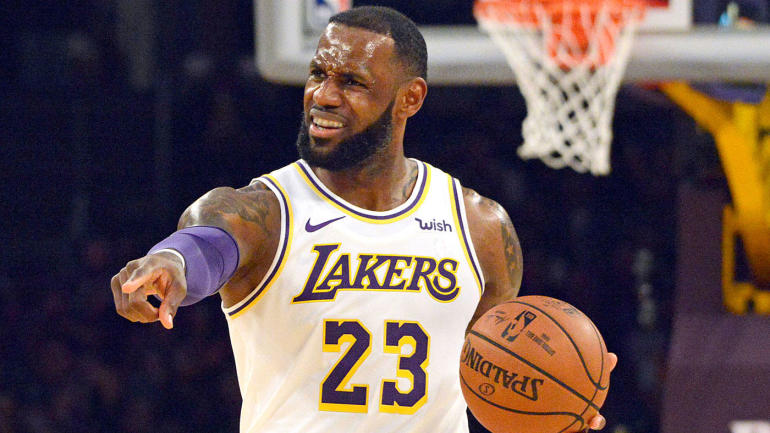 Bintang LA Lakers, LeBron James. Foto-bbcsport