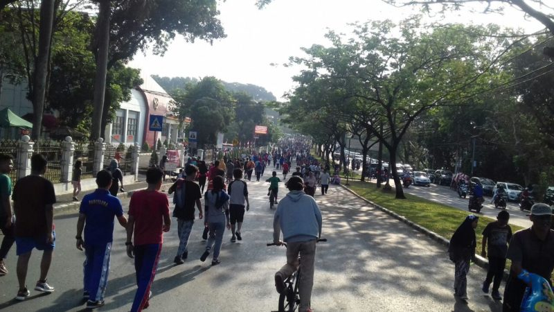 Iduladha, Car Free Day Ditiadakan