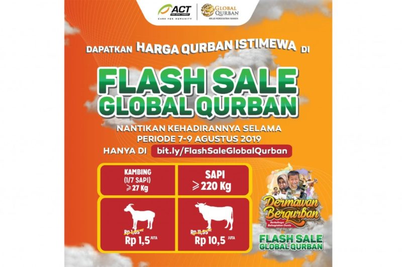Flash Sale! Kurban Semakin Terjangkau di Global Qurban