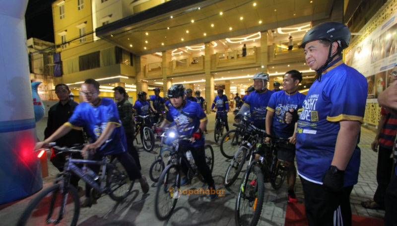 "Serunya ""Night Ride"" di Kota Banjarmasin"