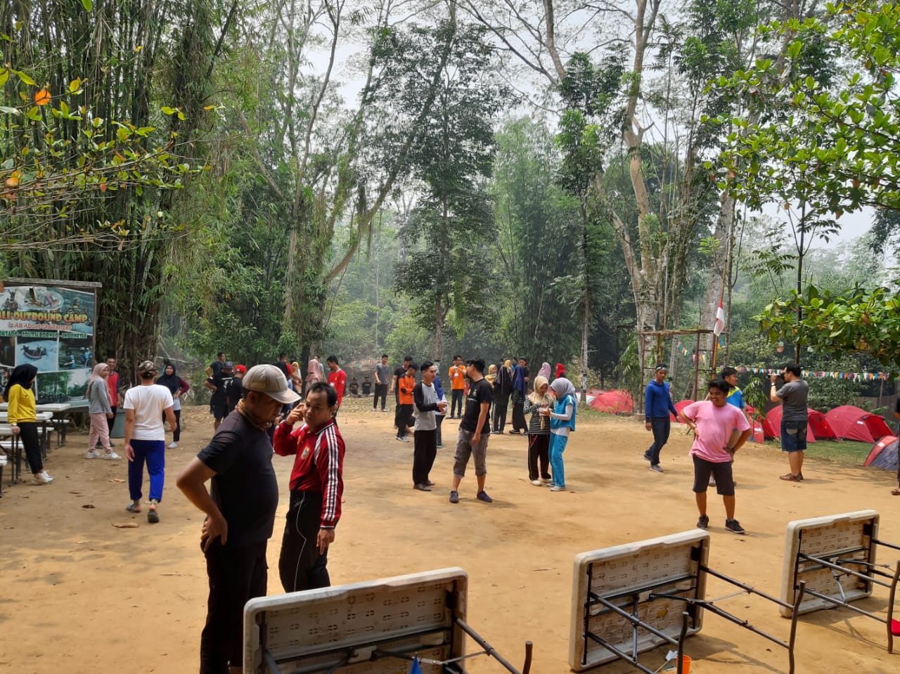Outbound di Workshop DPD KNPI Balangan