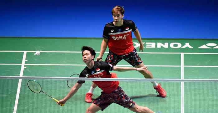 Kevin/Marcus ke Semi Final French Open  Usai Tumbangkan Wakil China