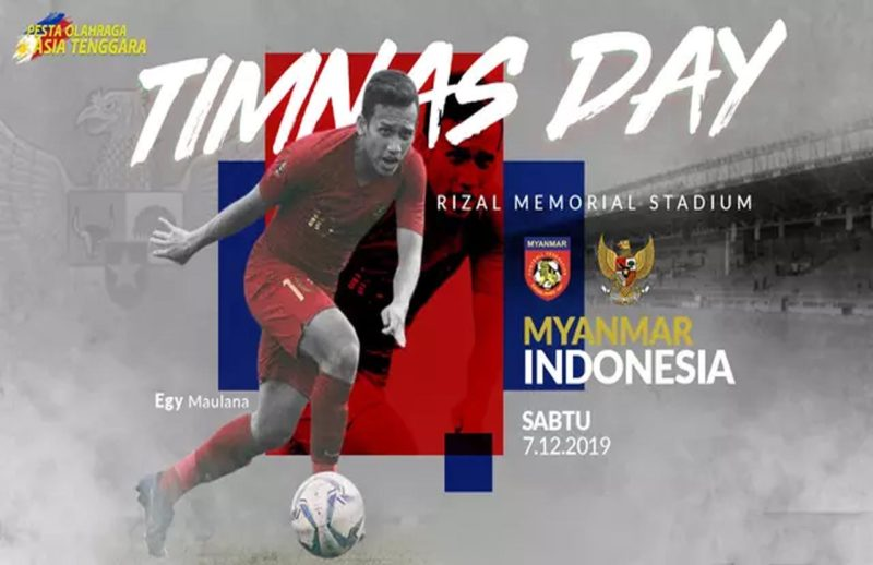 SEA Games 2019, Myanmar Vs Indonesia. Foto-bola.com