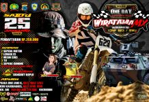 One Day Adventure Trail Wiratama MX, Ajang Rider Kalselteng Meriahkan HUT Yonif 623 ke 59