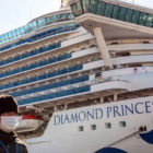 Penampakan kapal pesiar Diamond Princess.Foto: Business Insider
