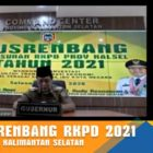 : Capture Video Conference Musrenbang Kalsel 2021. Foto-istimewa