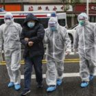 Virus corona di China. Foto-STR/AFP via CNN Indonesia