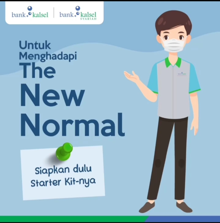 Ingin ke Bank Kalsel di Era New Normal, Simak Imbauannya