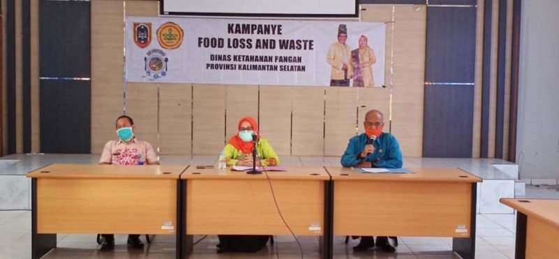 """Food Loss and Waste"" Mulai Dikampanyekan di Tanah Laut"