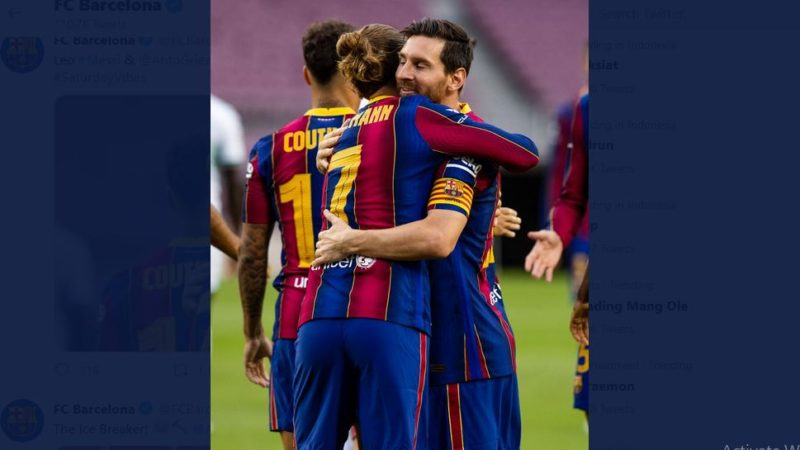 Link Live Streaming Bein Sports: Getafe vs Barcelona, Misi Messi Cs Kejar Real Madrid di Liga Spanyol