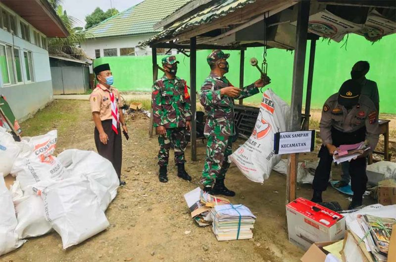 World Cleanup Day Tabalong, Kecamatan Banua Lawas Setor 1 Ton Lebih Sampah