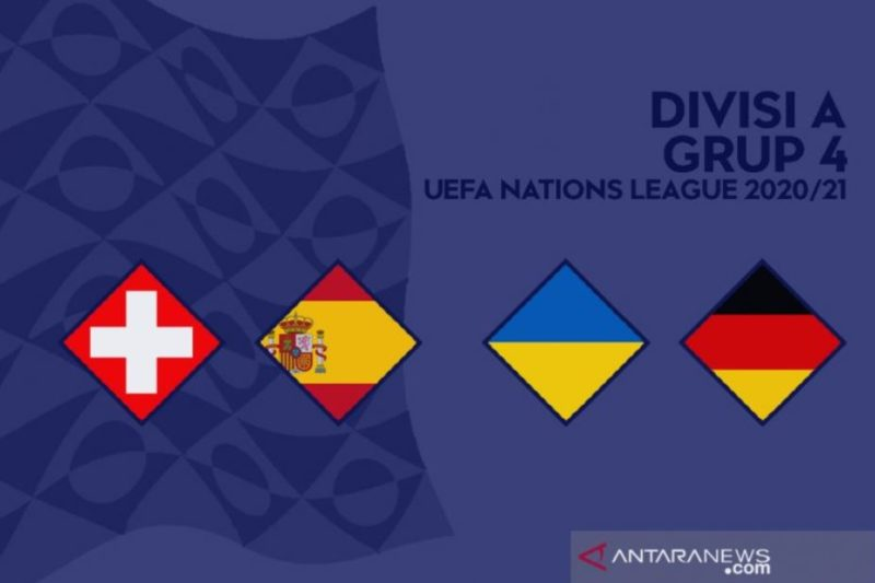 Jadwal UEFA Nations League Malam Ini, Ada Jerman vs Ukrain, Spanyol vs Swiss Live Streaming Mola TV dan NET TV