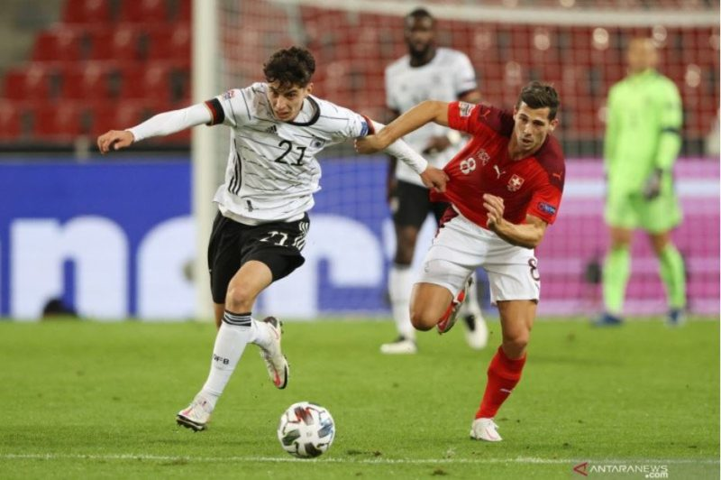 Hasil UEFA Nations League, Jerman vs Swiss, Drama Enam Gol, Tim Panser Nyaris Kalah, Skor Akhir 3-3