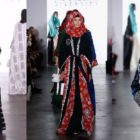 Sasirangan Kalsel sukses curi perhatian di New York Fashion Week (NYFW). Foto-Istimewa