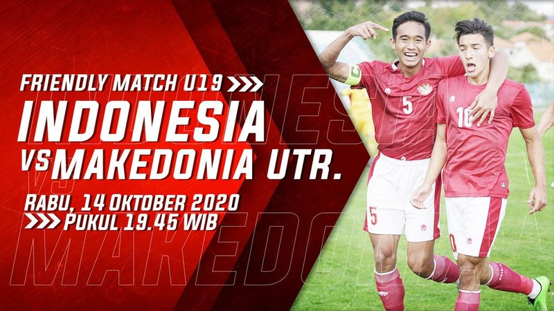 Link Live streaming Indonesia U-19 vs Makedonia Utara di Mola TV, Jack Brown Cadangan