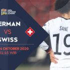 Link live streaming Jerman vs Swiss di Mola TV, Rabu (14/10) dini hari WIB. Foto- Mola Tv