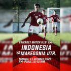 Link Live Streaming Timnas U19 Indonesia vs Makedonia Utara, Minggu (11/10). Foto-Mola TV