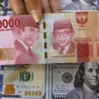 Ilustrasi rupiah dolar AS. Foto: IDXChannel