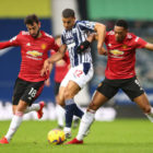 Menghadapi  West Bromwich Albion di Stadion The Hawthorns.  , Manchester United pulang membawa 1 poin. Foto: Getty Images