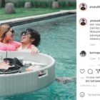 Atta Halilintar dan Aurel Hermansyah, Honeymoon di Bali. Foto-Instagram/Atta Halilintar