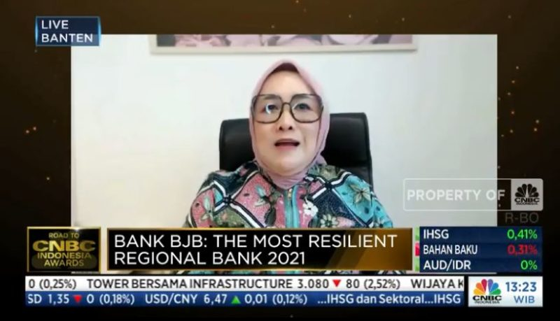 bank bjb Raih The Most Resilient Regional Bank 2021